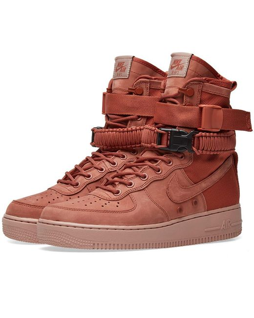 Nike - Pink Sf Air Force 1 for Men - Lyst