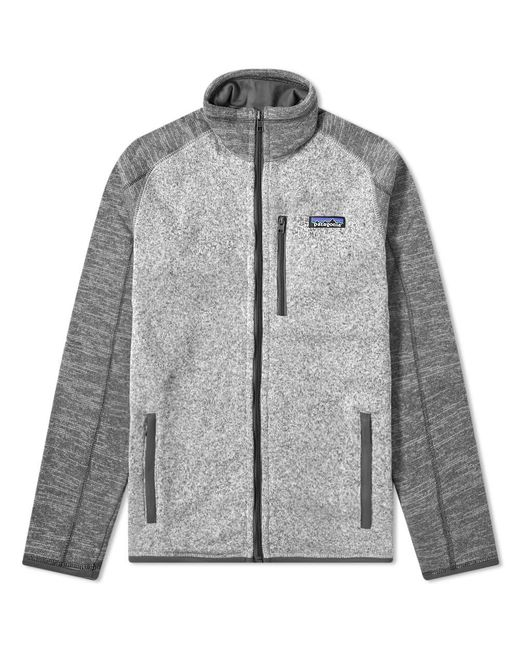 Patagonia Gray Better Sweater Jacket for men