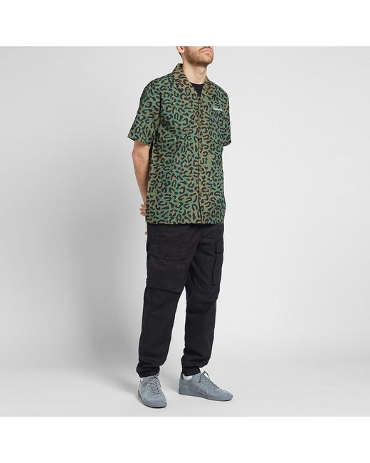 a26e63af08d0f3 ... Maharishi - Green Short Sleeve Leopard Camo Vaction Shirt for Men - Lyst