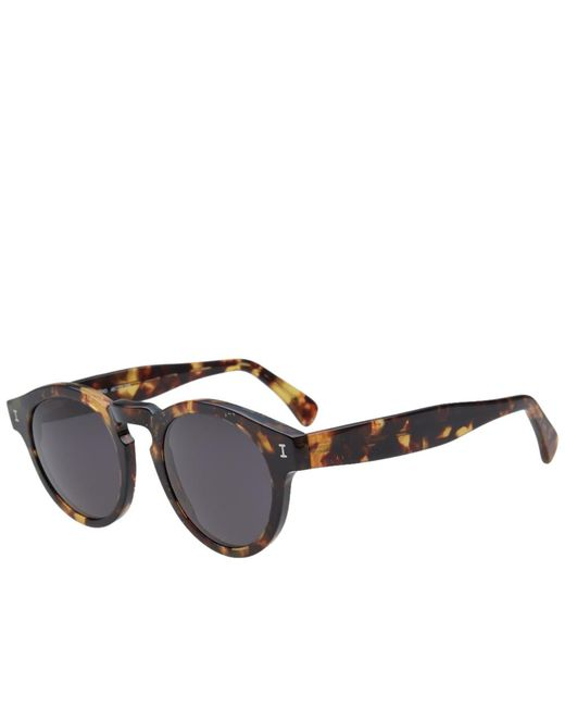 Illesteva - Brown Leonard Sunglasses for Men - Lyst