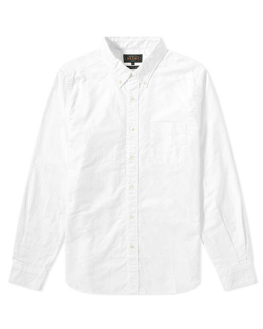 Beams Plus - White Button Down Oxford Shirt for Men - Lyst