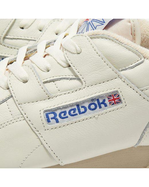 Reebok White Workout Plus 1987 Vintage for men