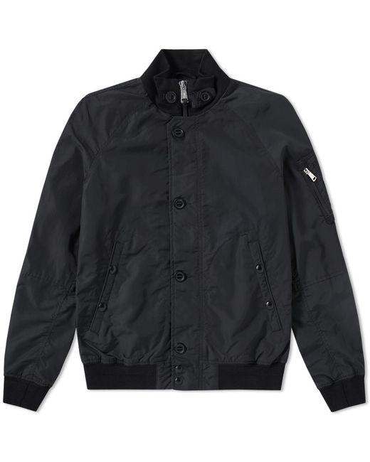 polo ralph lauren ma 1 bomber jacket in black for men save 35 lyst. Black Bedroom Furniture Sets. Home Design Ideas