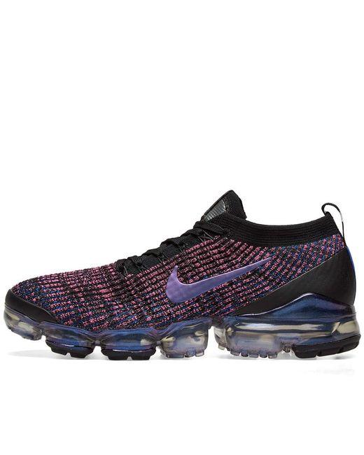 96442eae83cc ... Nike - Pink Air Vapormax Flyknit 3 for Men - Lyst ...