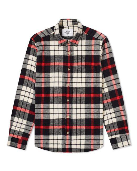 Portuguese Flannel - Black Abril Check Shirt for Men - Lyst