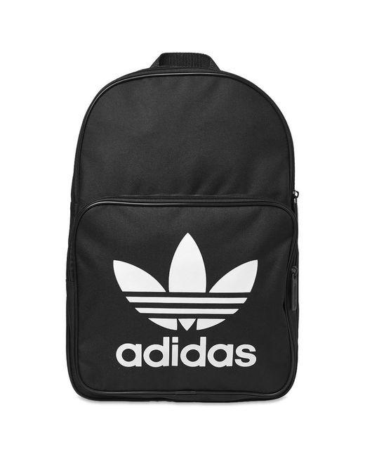 62ea7eefc1 Adidas - Black Trefoil Backpack for Men - Lyst ...