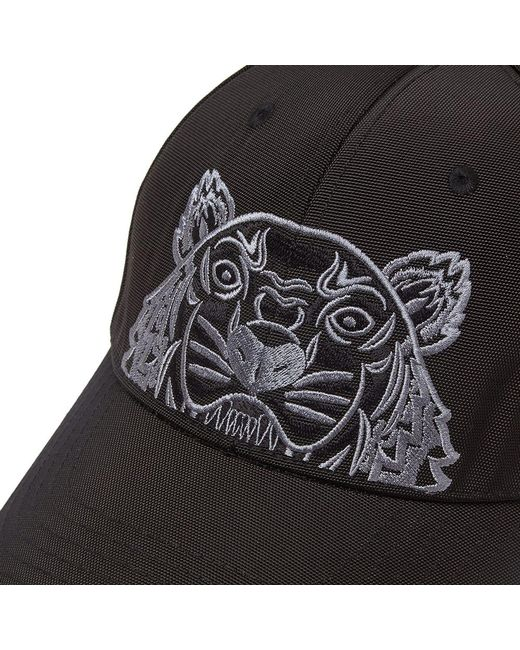 aa4e946063b76f KENZO Tiger Cap in Black for Men - Save 38% - Lyst