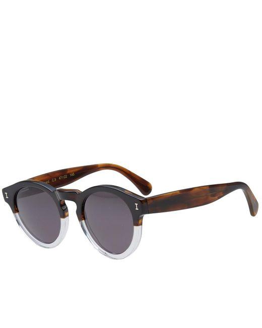 Illesteva - Brown Leonard Sunglasses for Men - Lyst