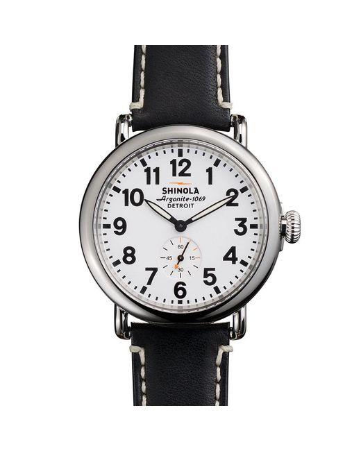 Shinola - Black Runwell 41mm Watch - Lyst