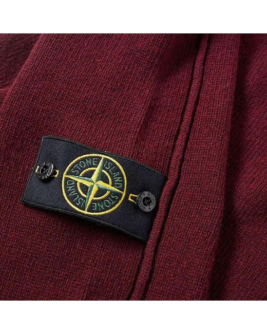 Stone island lambswool crew knit for men save 3 lyst for Stone island bedding