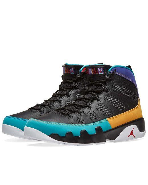 7dc700de747e55 Nike - Black Air Jordan 9 Retro for Men - Lyst ...