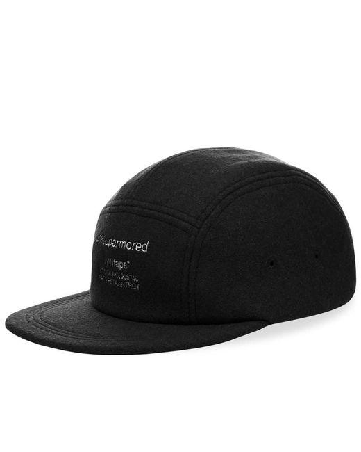 (w)taps Black T-5 02 Cap for men