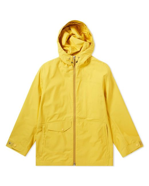 Nanamica - Yellow Nylon Gore-tex Cruiser Jacket for Men - Lyst