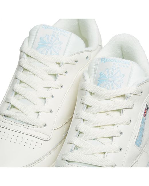 ee5aba0893571 Lyst - Reebok Club C 85 Vintage in White for Men - Save 11%