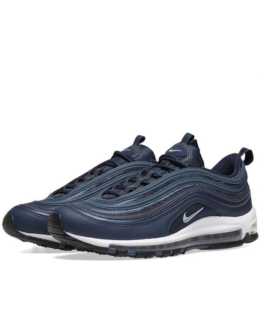 hot sales 83091 f9eab Nike - Blue Air Max 97 Essential for Men - Lyst ...