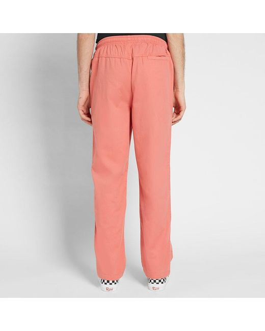 ed1448abe9 ... Stussy - Pink Og Brushed Beach Pant for Men - Lyst ...