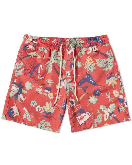 Polo Ralph Lauren - Blue Classic Traveller Swim Short for Men - Lyst