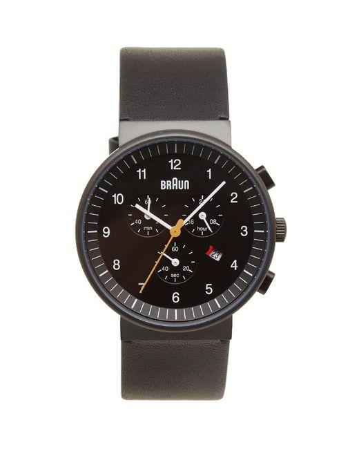 Braun - Black Bn0035 Chronograph Watch for Men - Lyst