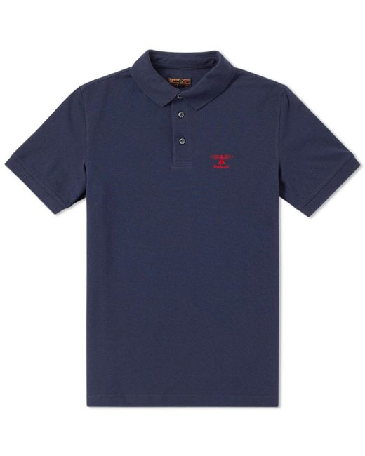 Barbour | Blue Joshua Polo for Men | Lyst