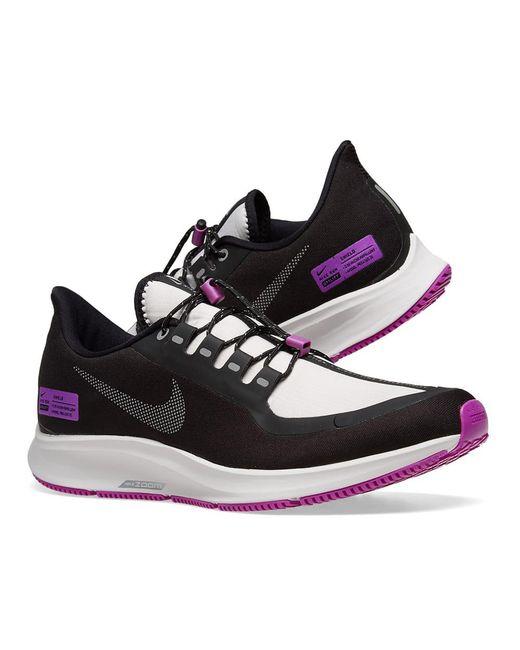 Nike Synthetic Air Zoom Pegasus 35 Shield Nrg, Blackreflect