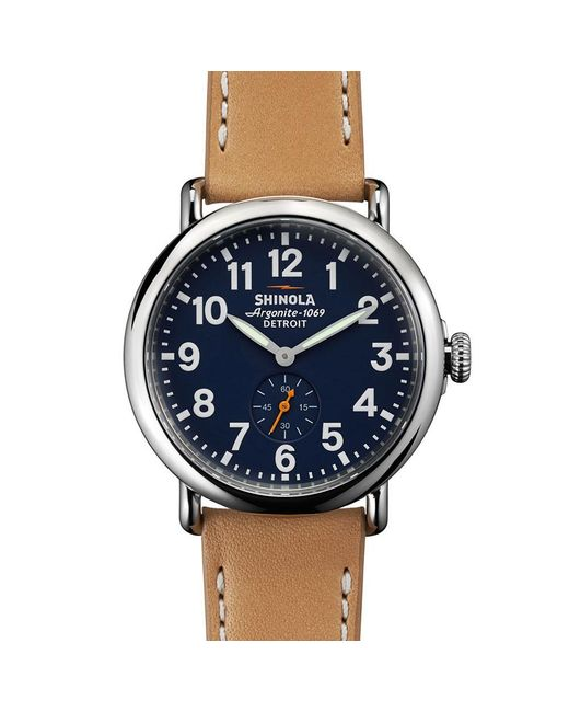 Shinola | Multicolor Runwell 41mm Watch for Men | Lyst