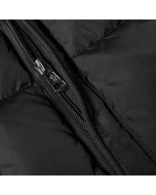 0d4a211d0cb6 Moncler Aiton Logo Hooded Down Jacket in Black for Men - Lyst