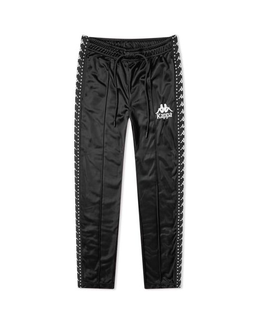 Kappa Black Authentic Star Anac Track Pant for men