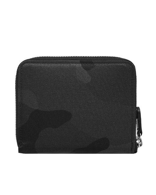 Porter - Black Camo Zip Wallet for Men - Lyst