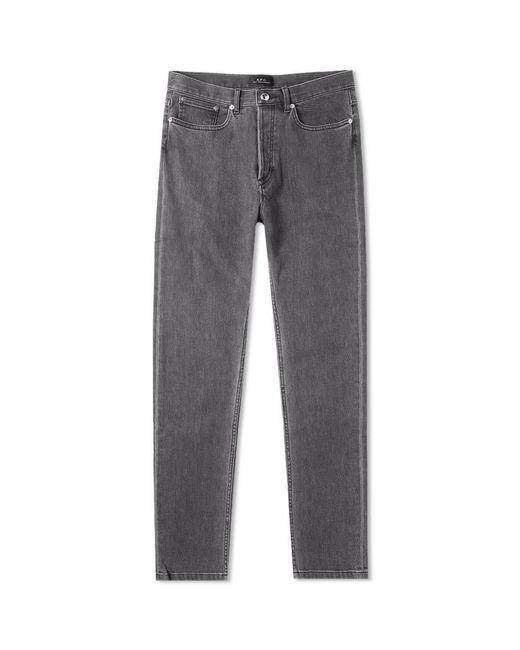 A.P.C. Black Petit New Standard Jean for men