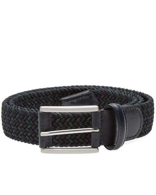Andersons | Blue Anderson's Woven Textile Belt for Men | Lyst