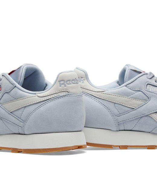 840865582dd ... Reebok - Gray Classic Leather Tl for Men - Lyst ...