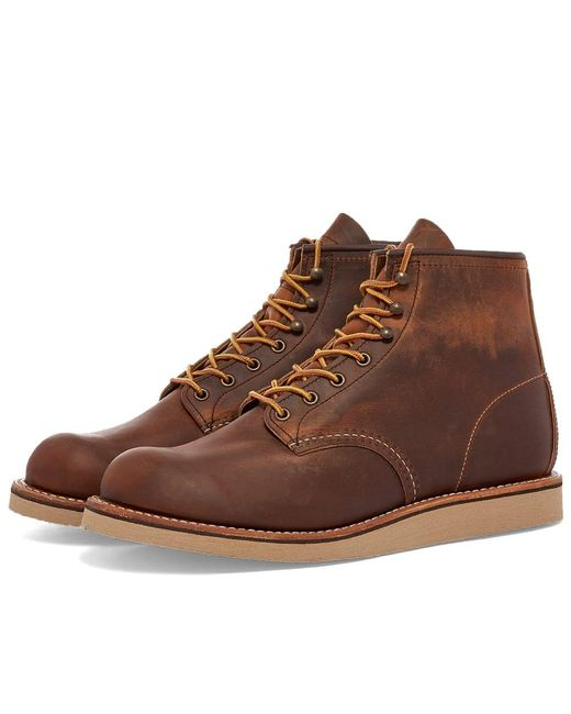 Red Wing Brown 2950 Heritage Work Rover Boot for men