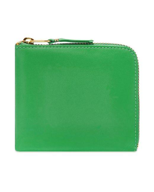 Comme des Garçons Green Comme Des Garcons Sa3100 Classic Wallet for men