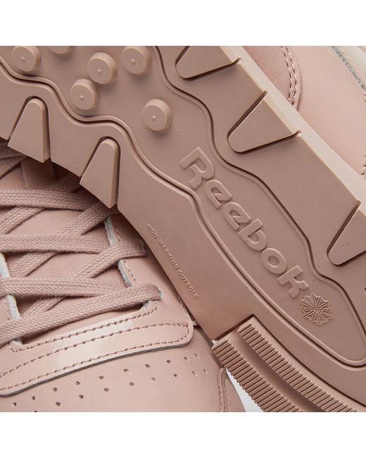 263ae5b24990b Lyst - Reebok Classic Leather Il W in Pink - Save 59%