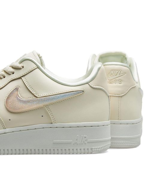 79b41f8041 ... Lyst Nike - White Air Force 1 '07 Se Premium Sneaker ...