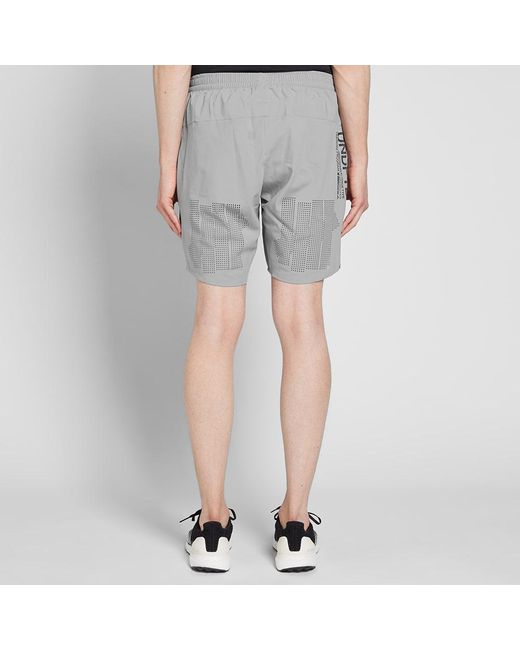 643ded0a69f57 ... Adidas - Gray X Undefeated Ultra Short for Men - Lyst ...