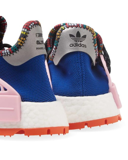 cab144268 ... Adidas Originals - Blue Adidas By Pharrell Williams Solarhu Nmd for Men  - Lyst ...