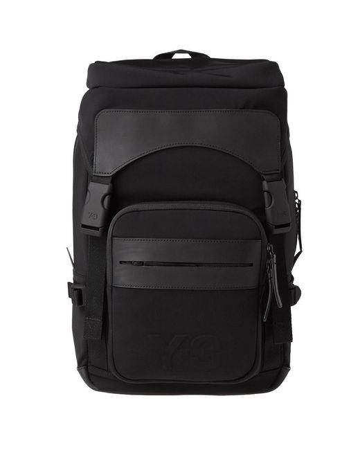 Y-3 Ultratech Backpack in Black for Men - Save 34.94423791821562% - Lyst 5fe6159ba4