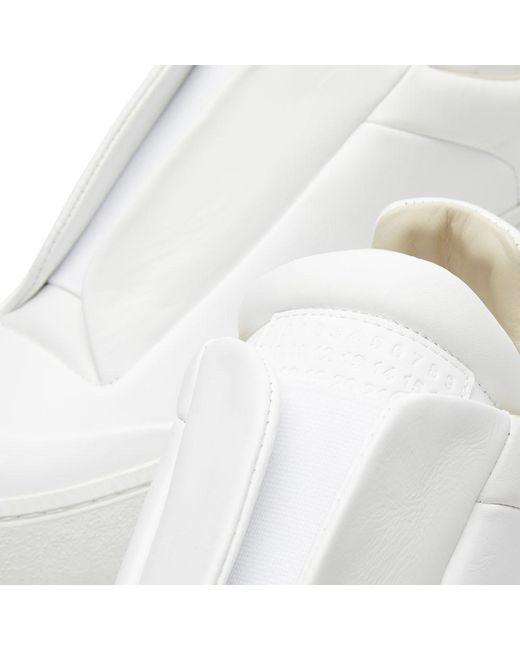 Lyst maison margiela 22 chunky future in white for Maison margiela 22