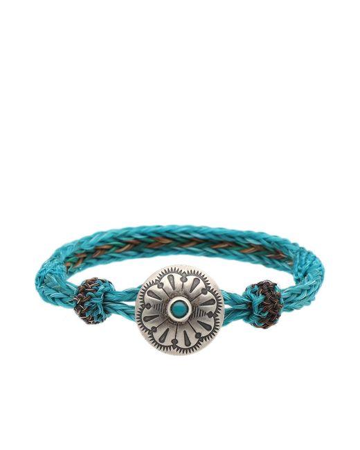 Chamula - Blue Turquoise Concho Bracelet - Lyst