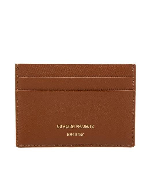 Common Projects - Brown Multi Card Holder - Lyst