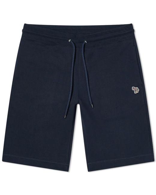 Paul Smith Blue Zebra Sweat Short for men