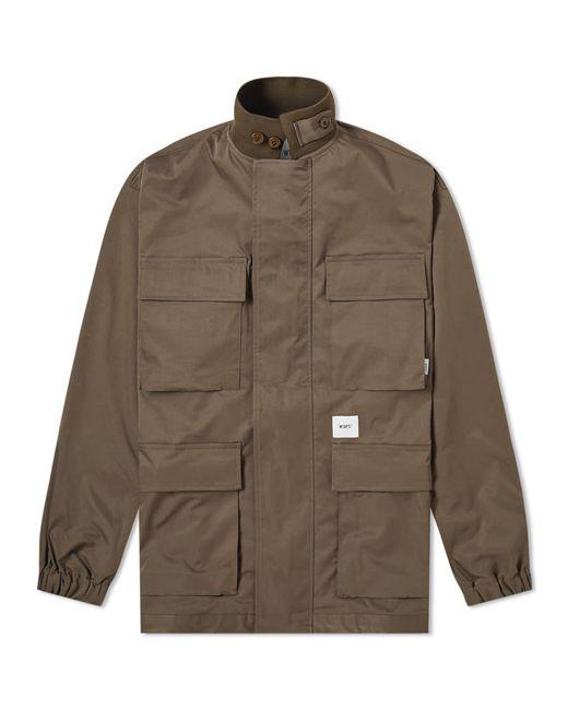 (w)taps Green Felicia Twill Jacket for men