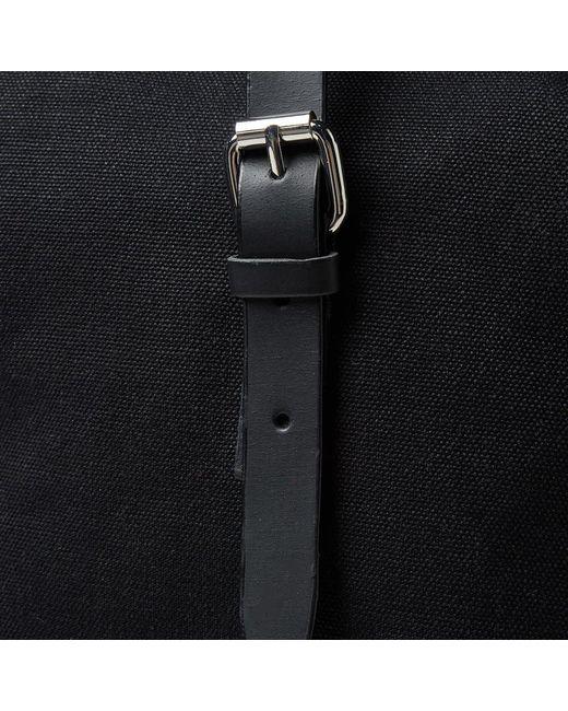 b138eb4548 ... Sandqvist - Black Marius Canvas Roll Top Backpack for Men - Lyst ...
