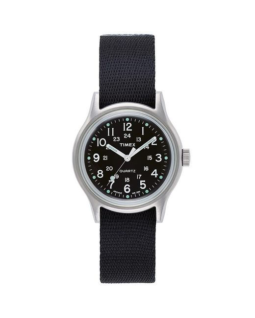 TIMEX ARCHIVE Black Camper Mk1 Stainless Steel Watch for men