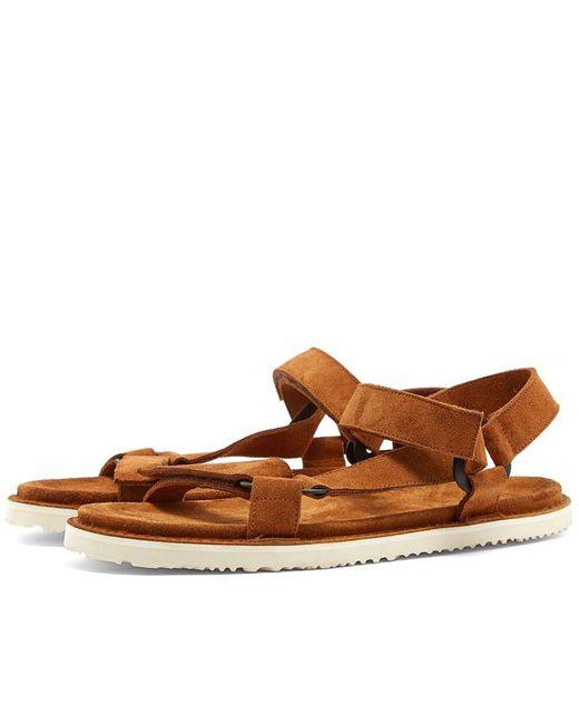 Buttero Brown Sports Sandal for men