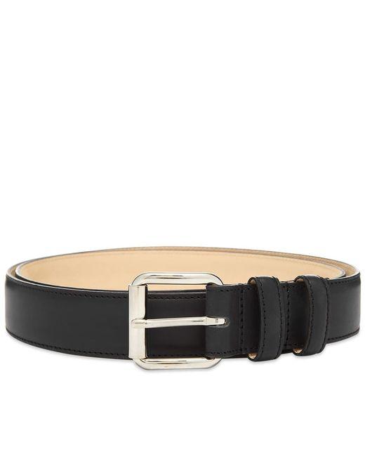 A.P.C. Black Classic Paris Belt for men