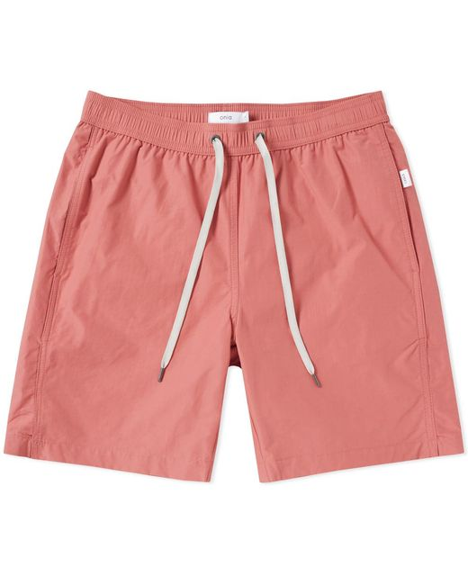 Onia | Pink Charles 7 Solid Swim Short for Men | Lyst