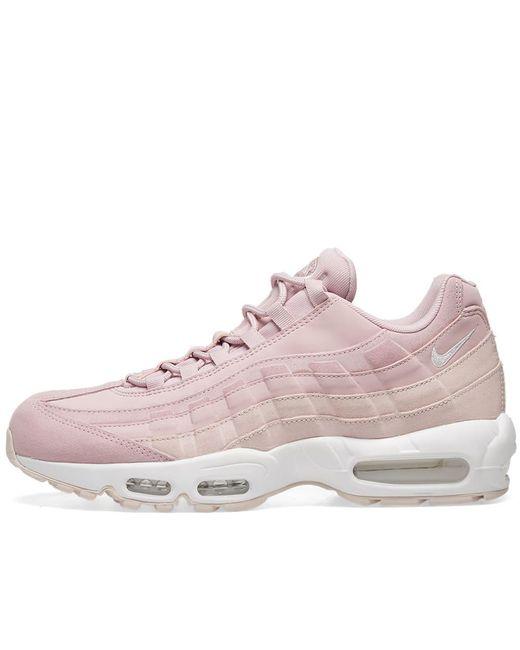 Women's Pink Air Max 95 Premium W