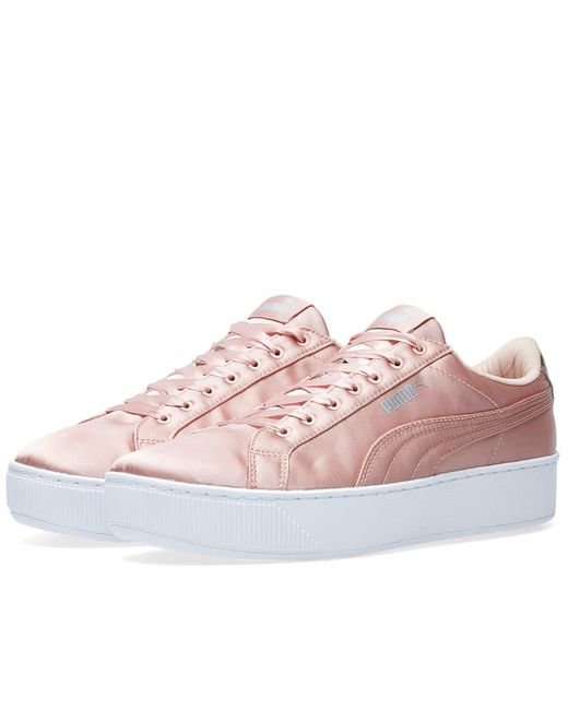 05e1011edff Puma Vikky Sneaker Pink. PUMA